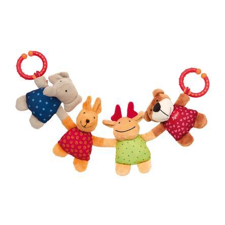 SIGIKID Baby Basics Chaîne pour poussettes animaux