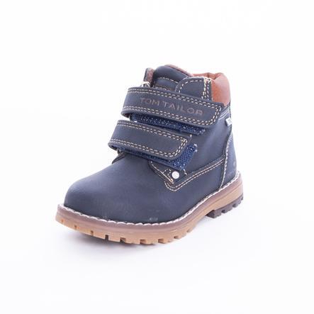 TOM TAILOR Boys Laarzen Klittenband marineblauwe laarzen