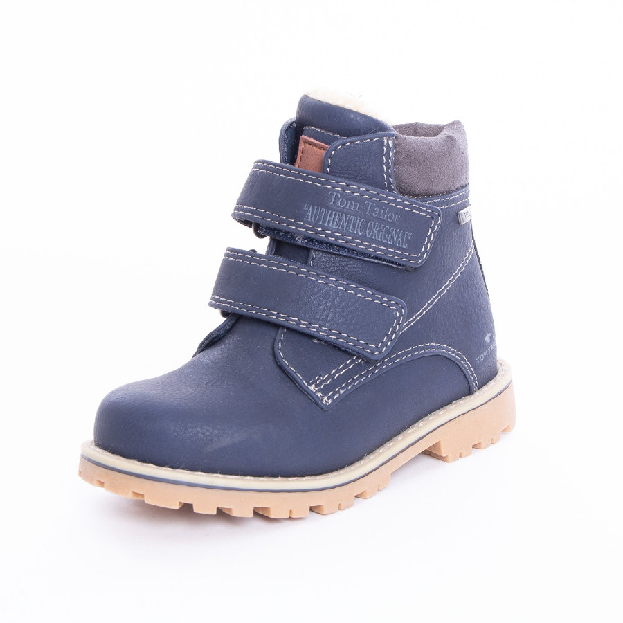 TOM TAILOR Chlapecké boty na suchý zip navy
