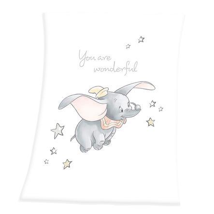HERDING Disney´s Dumbo Soft-Peach-Filt