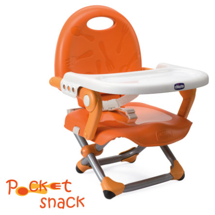 CHICCO Booster Seat Pocket Snack MANDARINO Collection 2015