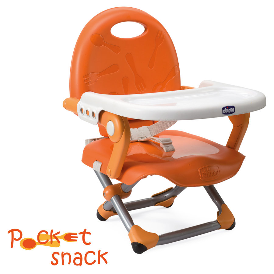 CHICCO Zitverhoger Pocket Snack MANDARINO Collectie 2015