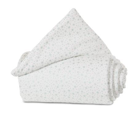 babybay® Nestchen Organic Cotton Original Original weiß Glitzersterne 149x25 cm