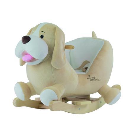 bieco Animal à bascule chien Sam bois