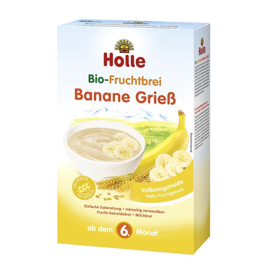 Holle Bio Fruchtbrei Banane Grieß 250 g