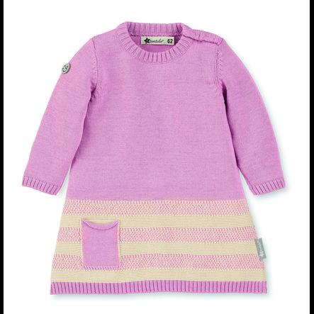 Sterntaler Strick-Kleid rosa