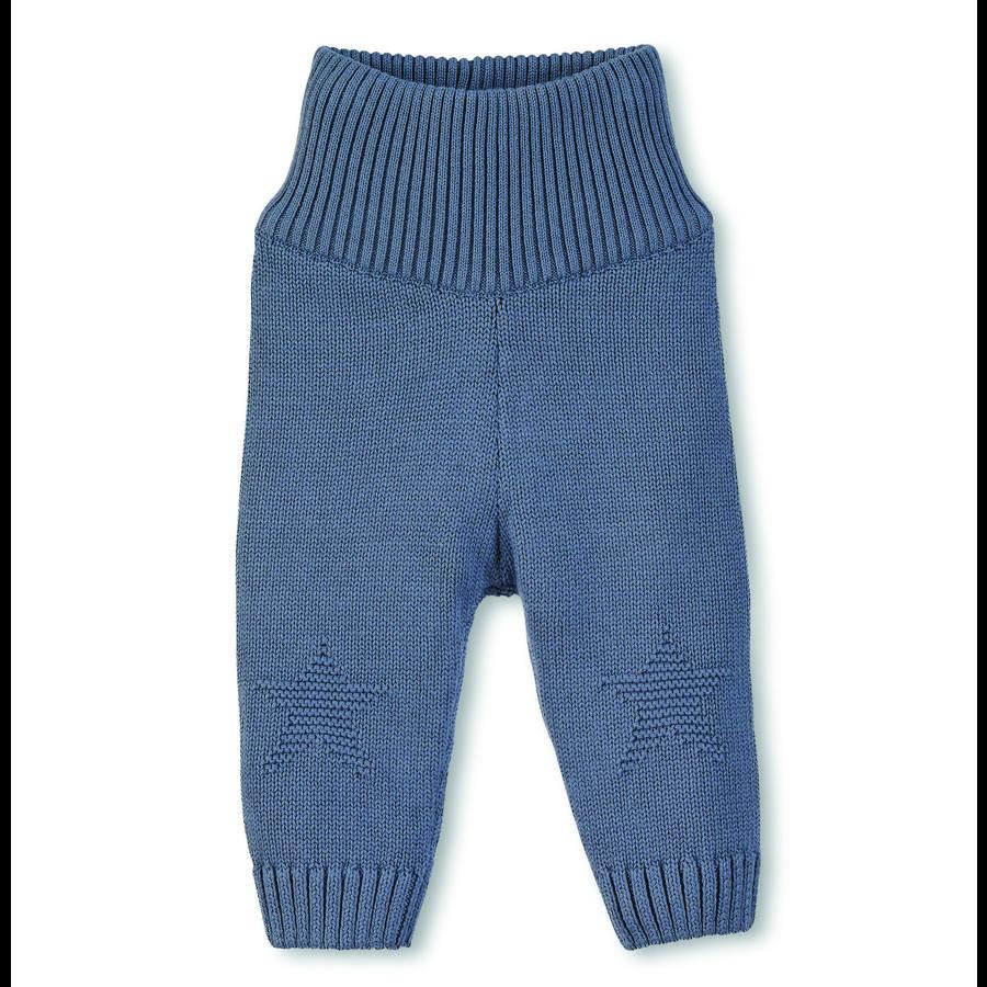 Sterntaler Gebreid-broek ster grijsblauw