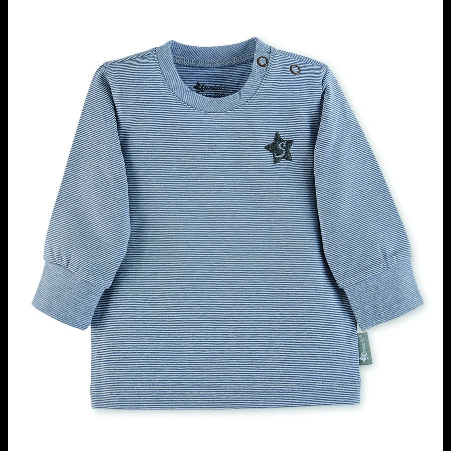Sterntaler Koszula z długim rękawem, szaroniebieski, szary niebieski