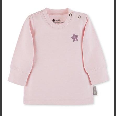Sterntaler Girls Langærmet skjorte med lange ærmer lyserød