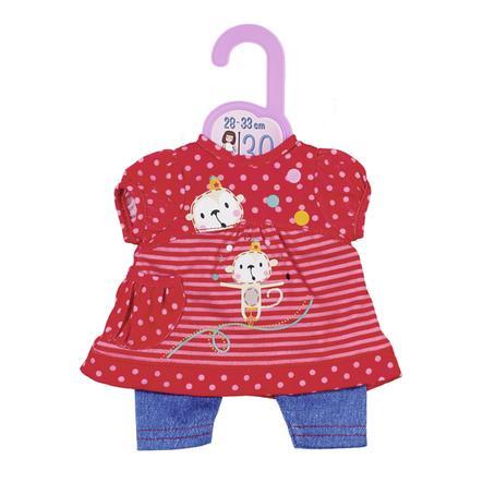 Zapf Creation Vaatesetti Dolly Moda mekko ja housut 30 cm