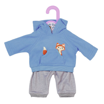 Zapf Creation Dolly Moda Sport-Outfit Blau, 30 cm