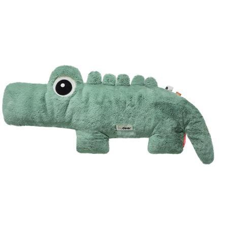 Done by Deer™ Kuscheltier Cuddle Friend Krokodil Croco, grün