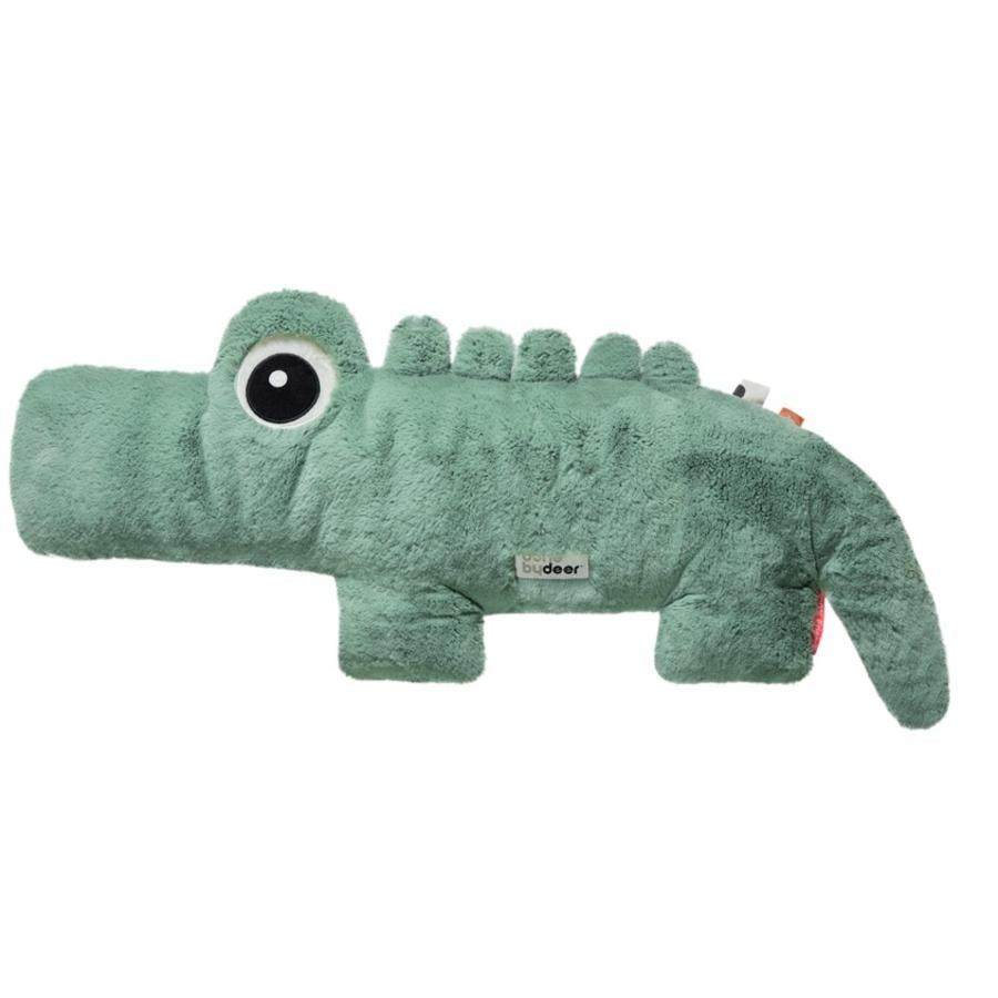 Done by Deer ™ Cuddly toy Cuddle Friend Crocodile Croco, groen