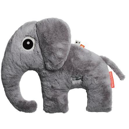 Done by Deer ™ Cuddly toy Cuddle Friend Elephant Elphee, grijs