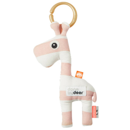 Done by Deer™ Colgante para cochecito jirafa Raffi, rosa