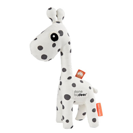 Done by Deer™ Rassel Giraffe Raffi, weiß/schwarz