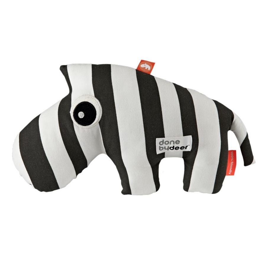 Done by Deer™ Kuscheltiere Zebra Zebee gestreift, schwarz/weiß