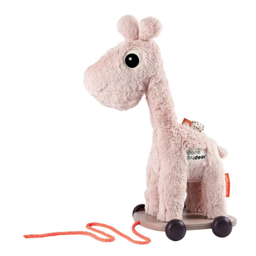 Done by Deer™ Nachziehtier Giraffi Raffi, rosa
