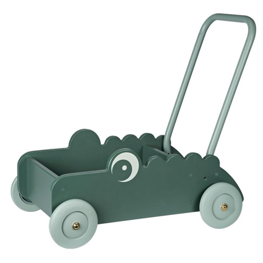 Done by Deer ™ krokodilkrokos för babyvandrare, grön