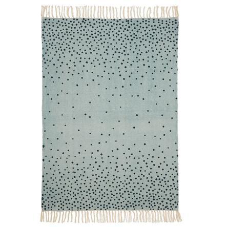 Done by Deer koberec 90 x 120 cm, modrý