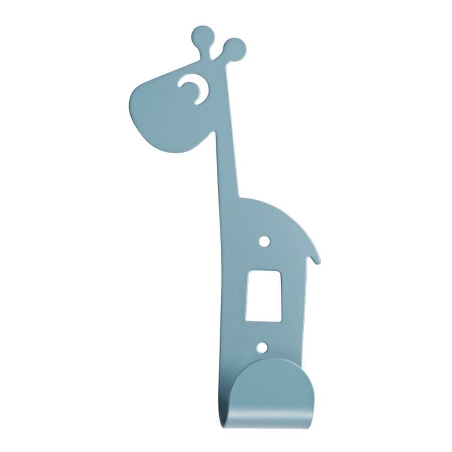 Done by Deer™ Wandhaken Giraffe Raffi, blau