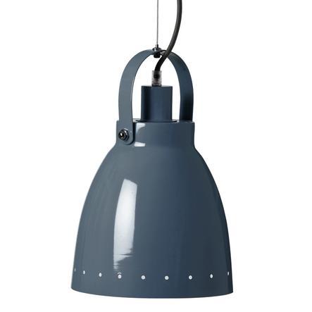 Done by Deer kovová závěsná lampa, tmavě modrá