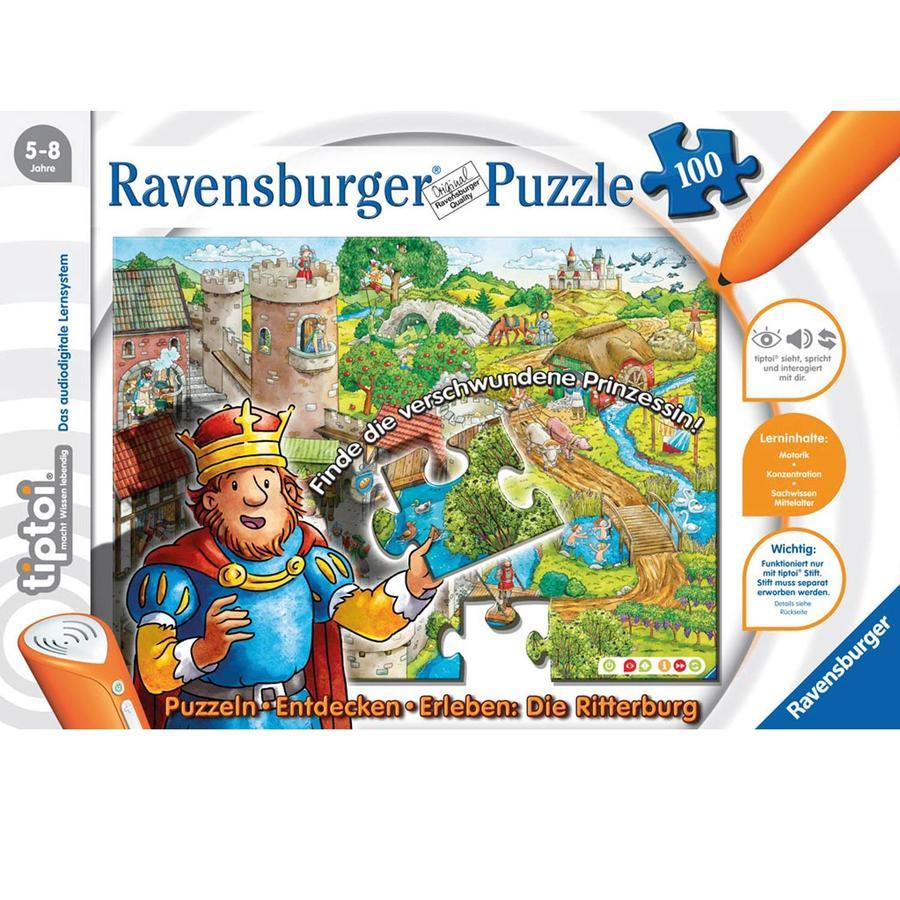 RAVENSBURGER tiptoi Puzzle Burg 00516
