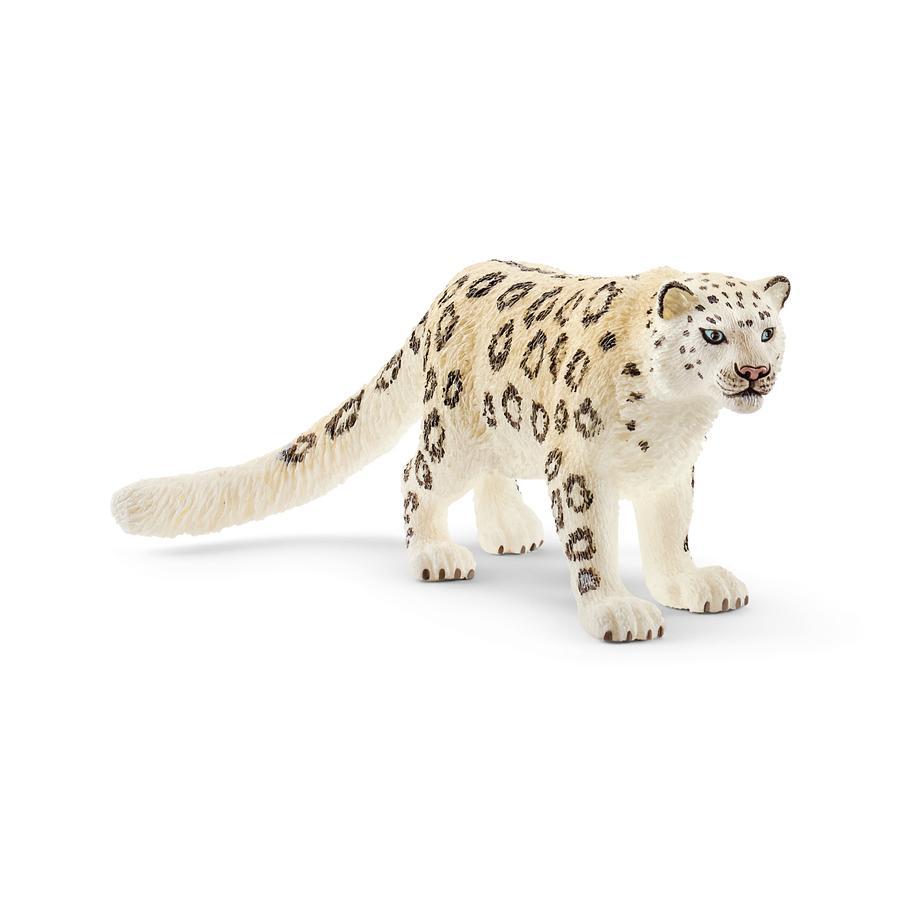 Schleich Figurine léopard des neiges Wild Life 14838