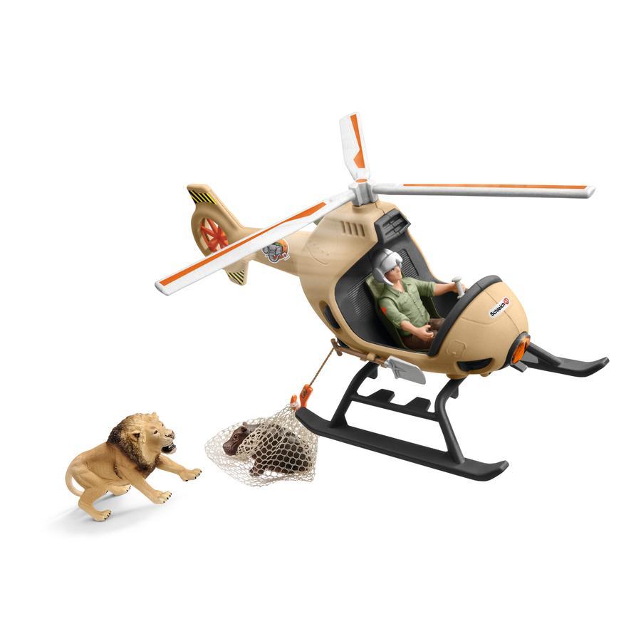 Schleich Djurräddning med helikopter 42476
