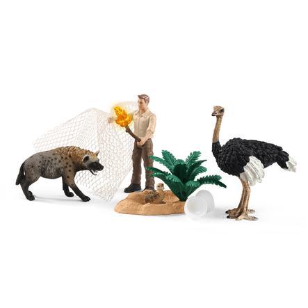 Schleich Angriff der Hyäne 42504