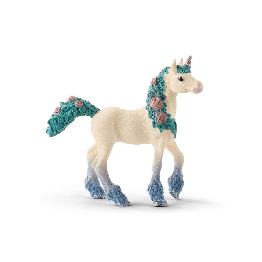Schleich El potro de unicornio en flor 70591