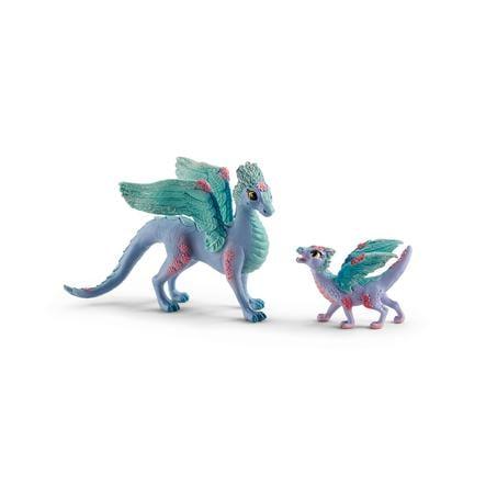 Schleich Flower dragon and child 70592