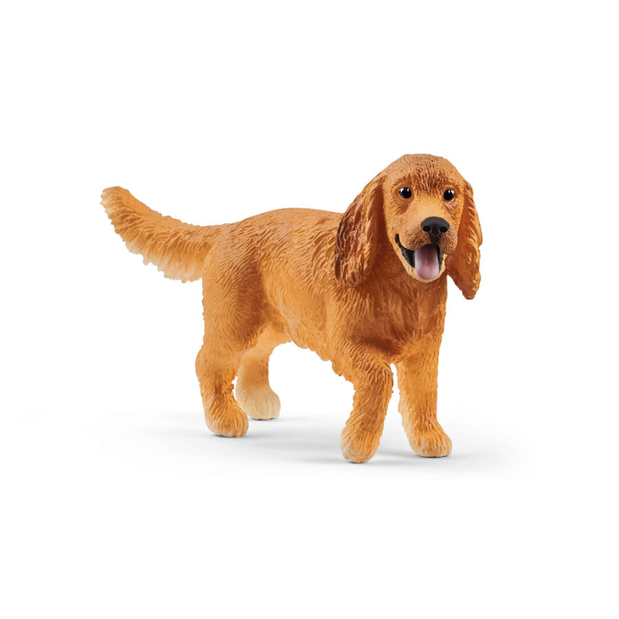 Schleich Figurine cocker spaniel anglais Farm World 13896