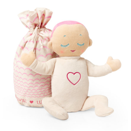 Lulla doll Coral: den sovende dukken med ekte hjerterytme