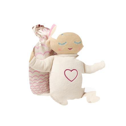 Lulla Dukke Coral: den sovende Dukke med ægte hjerteslag