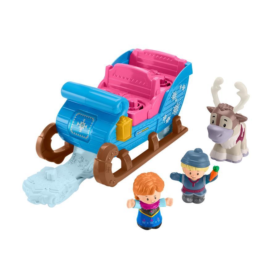 Fisher-Price® Traîneau de Kristoff La Reine des neiges Little People