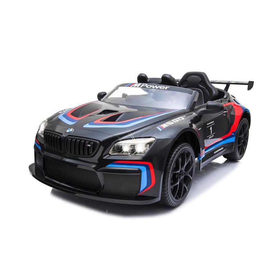 JAMARA Ride On Car BMW M6 GT3, schwarz