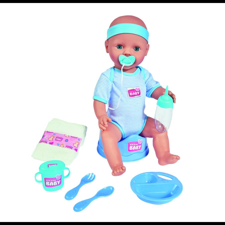 SIMBA New Born Baby Babypop Jongetje 43 cm