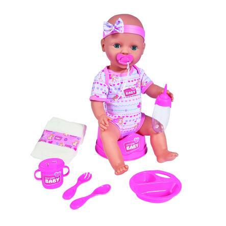 SIMBA New Born Baby - Dětská panenka 43cm