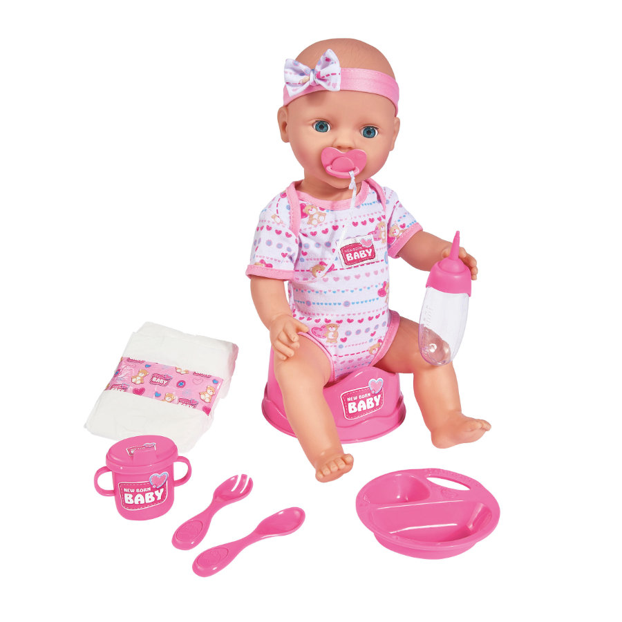 SIMBA New Born Baby - Poupée bébé, 43 cm
