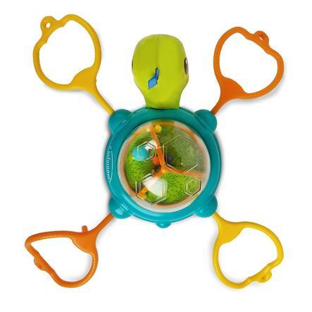 Infantino Link & Spin Tischspielzeug mit Saugnapf Schildkröte