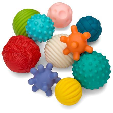 Infantino Sensory 10 Teile Spielbälle-Set