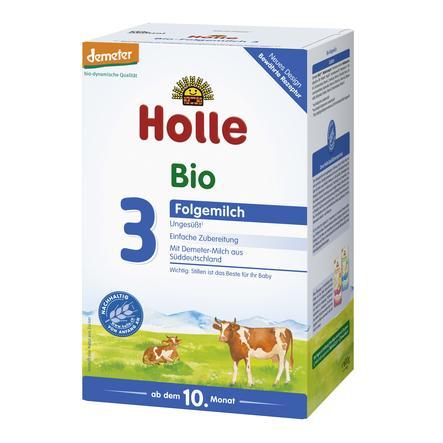 Holle Bio-Folgemilch 3 600 g ab dem 10. Monat