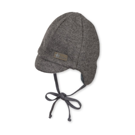 Sterntaler Boys peaked cap rope iron grey