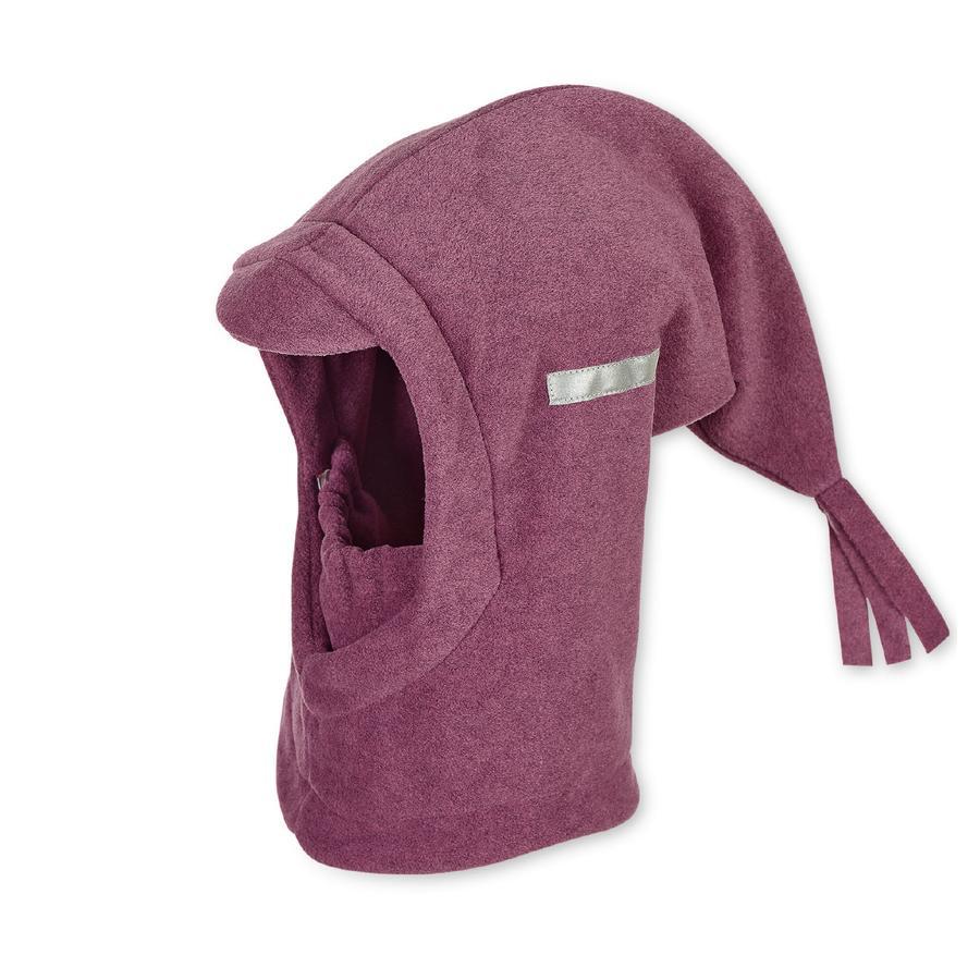 Sterntaler Ragazzi sciarpa cappuccio sciarpa viola melange
