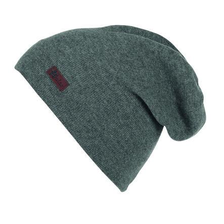 Sterntaler Slouch-Beanie tejido de punto gris hierro