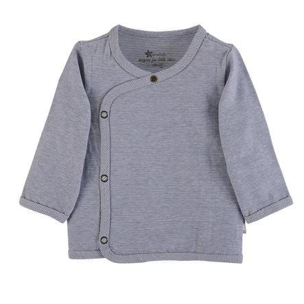 Sterntaler Wrap-Jacket gris bleu
