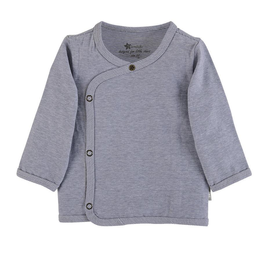 Sterntaler Wrap-Jacket grigio blu