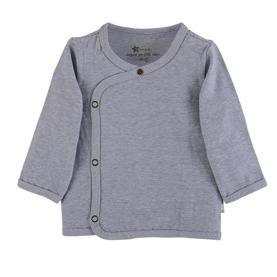 Sterntaler Wrap-Jacket gris azul