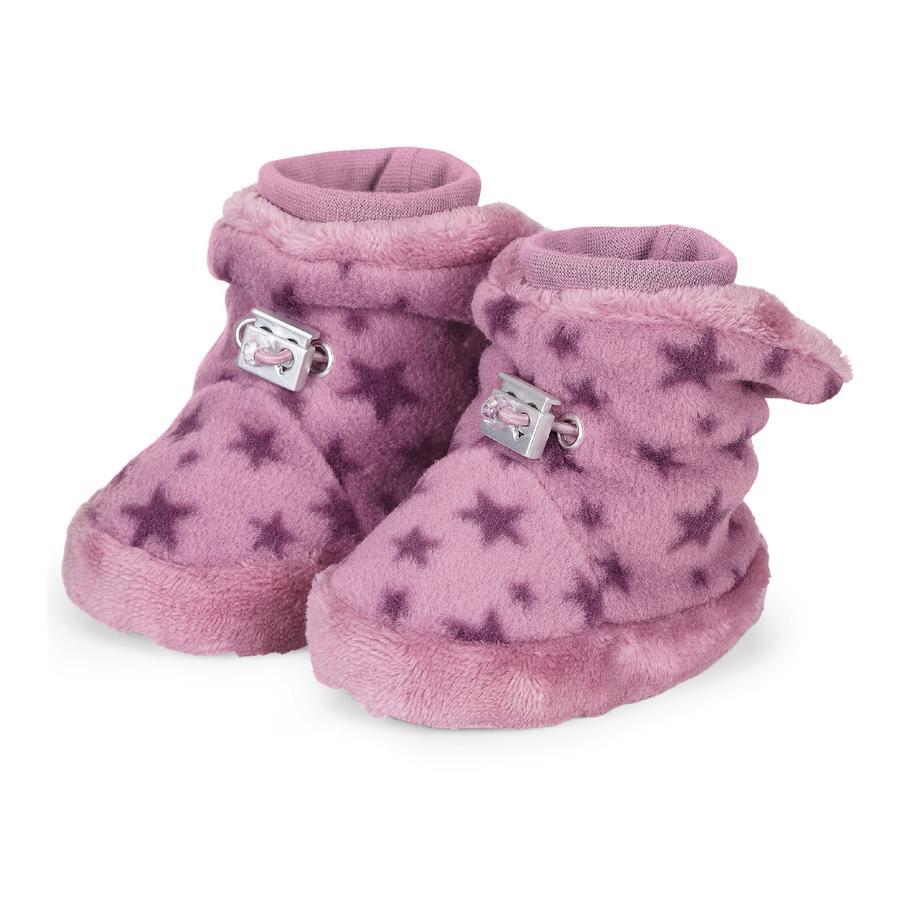 Sterntaler Chaussure de bébé violet clair